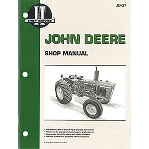 JD37 New Tractor Shop Manual For John Deere Tractors 1020 1520 1530 2020 2030