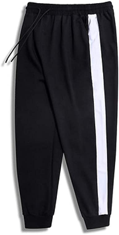 Pantalones de Hombre Pantalones de Color Liso Pantalones de ...