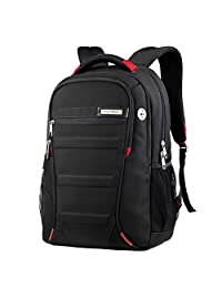 HAPPE Laptop Backpack Slim Computer Travel Bag Water Resistant 18inch For 15inch Laptop