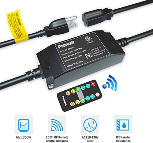 Palawell Dimmer Outdoor Wireless Control product image