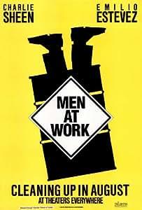 Amazoncom Men at Work Charlie Sheen Emilio Estevez
