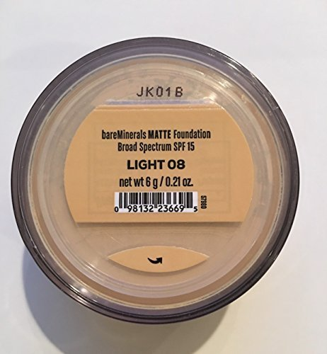 bareMinerals MATTE SPF 15 Foundation with Click, Lock, Go Sifter - Light