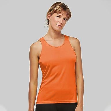 Kariban Proact Womens//Ladies Sleeveless Sports//Training Vest