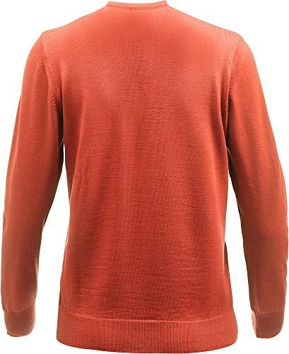 Ladies Sx V Melange coral s amp; Everett Farbe Cutter Buck Größe neck ntqYIw1w