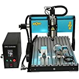 JFT 6090 4 Axis + 2.2kw + USB Port + Mach 3 + Industrial Level CNC Wood Router metal Engraving/milling Machine
