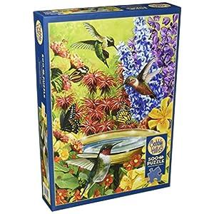 Cobblehill 85020 500 Pc Hummingbird Garden Puzzle Vari