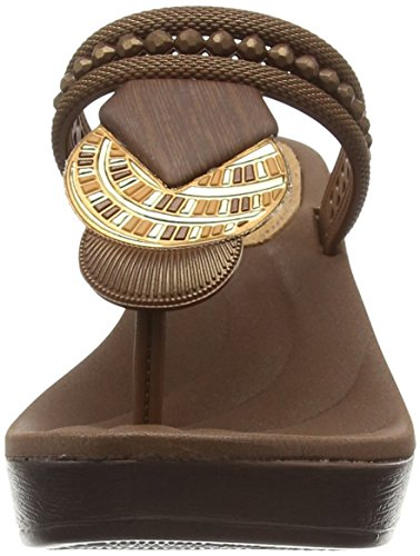 Compensées Beige Bronze Femme Beige Grendha Tribal Sandales II Bqxw4xn6