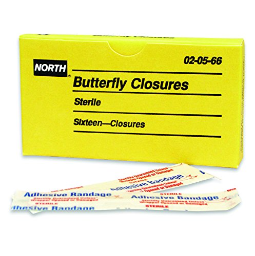 (Honeywell 2 3/4'' X 1/2'' North Butterfly Bandage)