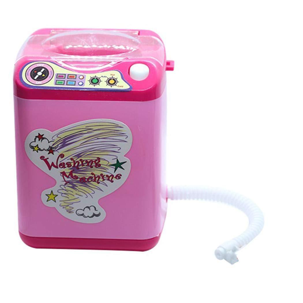 Ladiy Children Washing Machine Toy Mini Simulation Furniture Toys Makeup Brush Cleaner Play by Ladiy (Image #2)