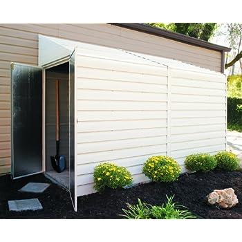 Arrow Shed YS410-A Yard Saver 4-Feet by 10-Feet Steel Storage Shed
