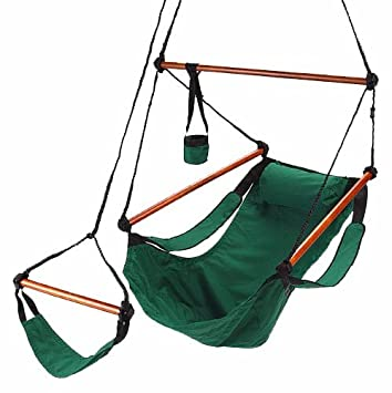 deluxe hammock chair   forest green amazon    deluxe hammock chair   forest green  garden  u0026 outdoor  rh   amazon