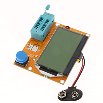 Flameer LCR-T4 Capacitor ESR Testing Function Green Backlight LCD