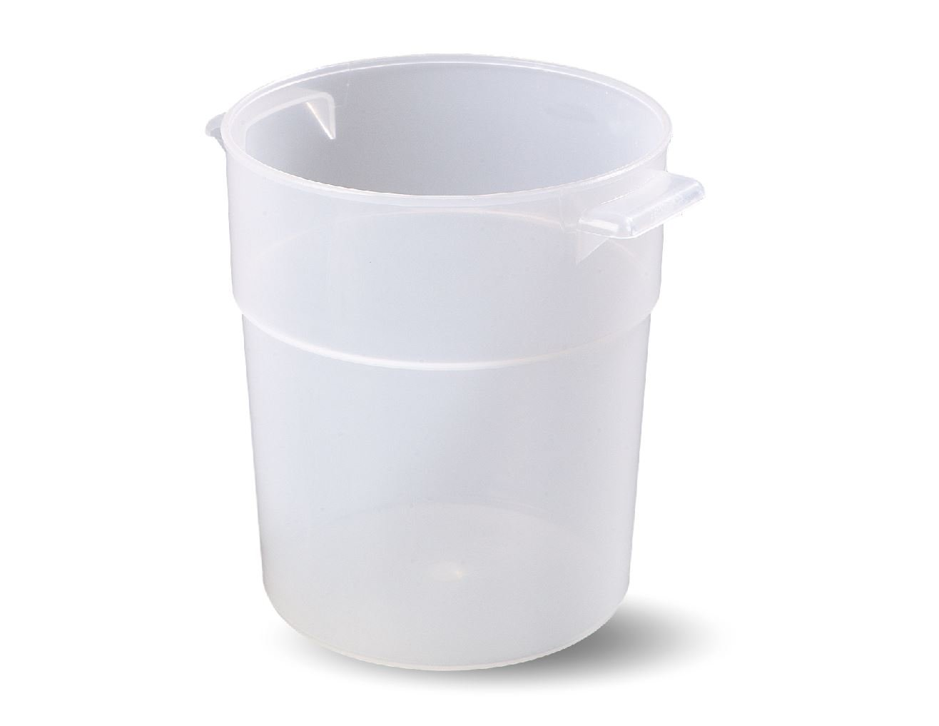 Carlisle 035530 BPA-Free Bains Marie Round Storage Container, 3.5 Quart, Clear