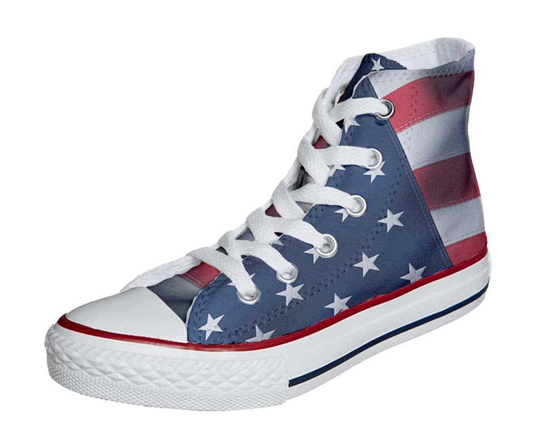 converse femme drapeau americain