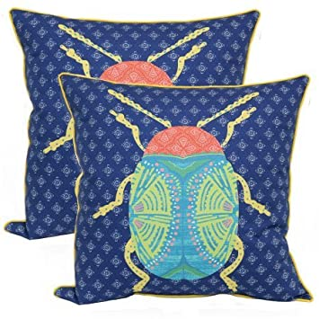 Amazon Better Homes And Gardens Decorative Beetle Toss Pillow Unique Better Homes And Gardens Decorative Pillows