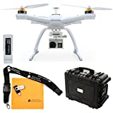 Chroma Bind-N-Fly Drone with GoPro Ready Camera Mount, Flight Case, and Blade 6300mAh 11.1V LiPo Chroma Battery