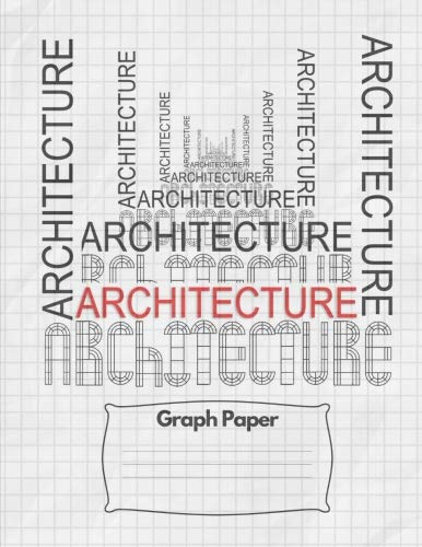 "Graph Paper Notebook: Architecture Design Drawing Plans Engineering Course Class: Quad Ruled 5 squares per inch, 140 pages (70 sheets) 8.5"" x 11"" Glossy Paperback Cover"