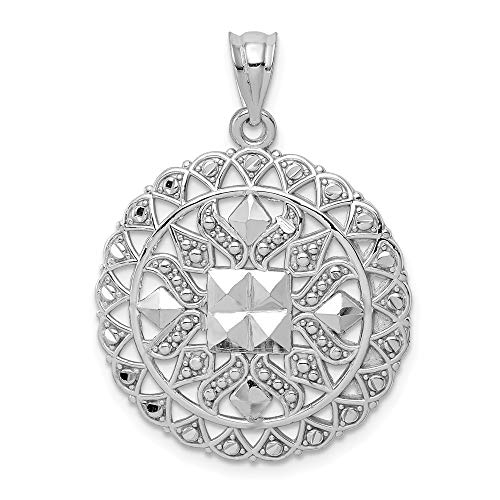 14k White Gold Pendant Charm Necklace Fancy Fine Jewelry Gifts For Women For Her 14k Gold Camera Pendant