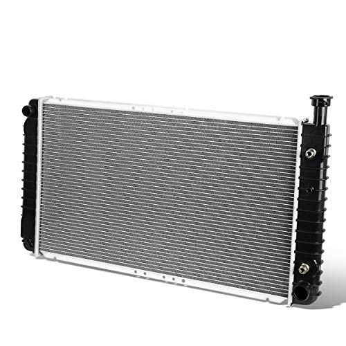 2044 Factory Style Aluminum Radiator for 96-02 Chevy Express/GMC Savana 4.5L/5.0L/5.7L AT