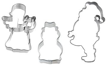 "Ausstechset "" de Navidad 33,02 cm con diseño de ángel - figura de"