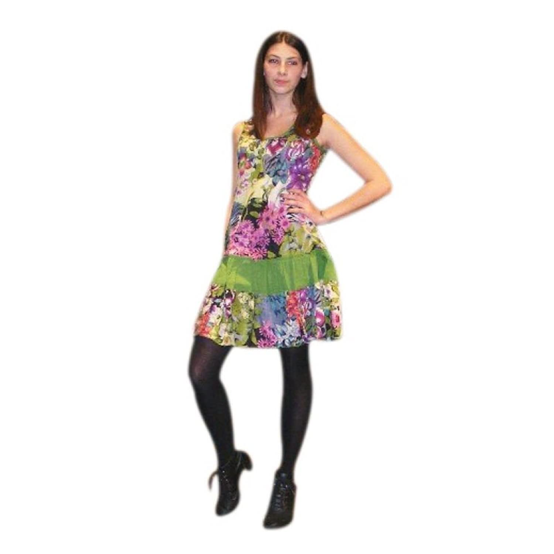 Fair Trade 100% Baumwolle floaty kurzen Sommerkleid Pippa