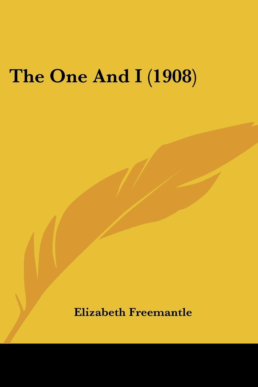 The One And I (1908) pdf epub