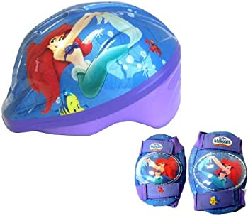 Little Mermaid Kids Bike Helmets