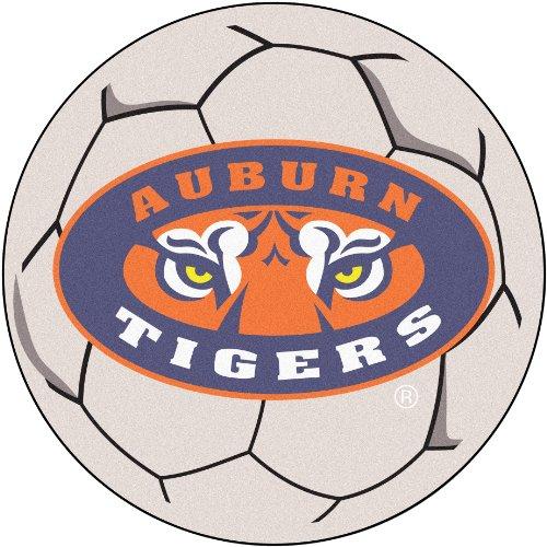 FANMATS NCAA Auburn University Tigers Nylon Face Soccer Ball Rug