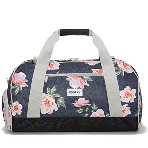 vooray-burner-sport-21-gym-bag-with-shoe-pocket-laundry-bag-rose-navy