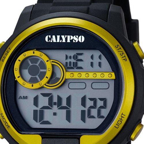 Calypso hombre-reloj digital para hombre - - - - - PU Cuarzo digital UK5667/5: CALYPSO: Amazon.es: Relojes