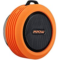 Mpow Buckler Portable Wireless Bluetooth Shower Speaker Waterproof with Mic, Hands-free Calling Function for Shower, Outdoor Activities