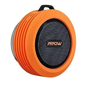 Mpow Buckler Portable Wireless Bluetooth Shower Speaker Waterproo