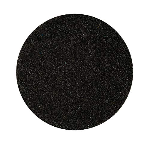 (Colored Sand for Crafts | Black Sand | for Wedding Sand Ceremonies, Fairy Gardens, Terrariums, or Any Craft | (1 Pound) | Plus Free Nautical Ebook by Joseph Rains)