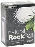 Tidman's Rock Salt, 17.6 Ounce Boxes (Pack of 12)
