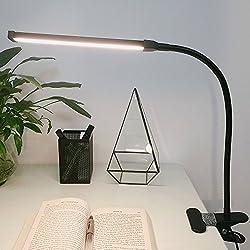 LEPOWER Led Clip on Light / Gooseneck Lamp for Night Reading