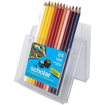 Sanford 92805 Prismacolor Scholar Colored Pencils, 24-Count