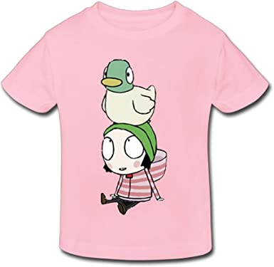 Jackson 6-24 Month Baby T-Shirt Sarah /& Duck Logo Personalized Fashion Customization Red Vito H