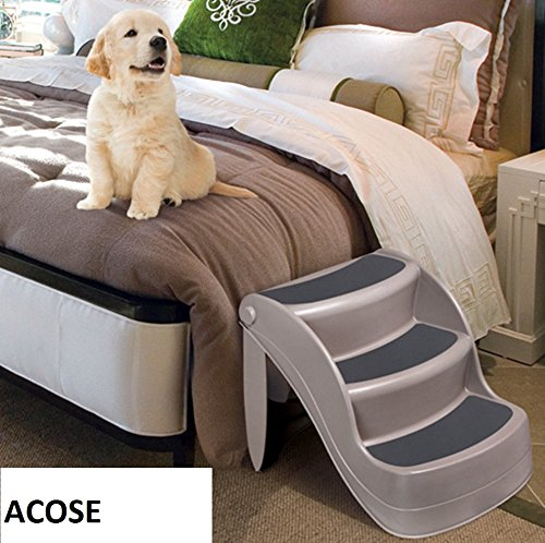 Portable 3 Steps Pet Dog Stairs