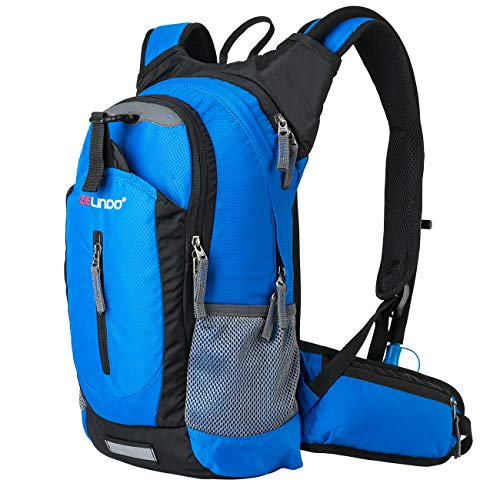 Gelindo Insulated Hydration Backpack Pack with 2.5L BPA Free Bladder – Keeps Liquid Cool up to 4 Hours, Water Backpack for Hiking Camping Cycling Running, 18L