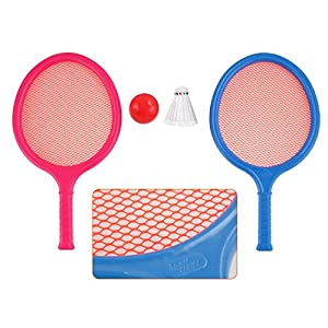 Badminton Set for Kids with 2 Rackets, Ball and Birdie