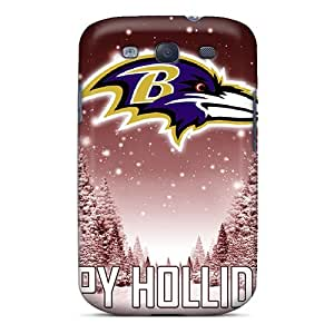 High-quality Durable Protection Case For Galaxy S3(baltimore Ravens)