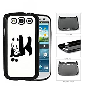Giant Panda Bear With Child Hard Plastic Snap On Cell Phone Case Samsung Galaxy S3 SIII I9300