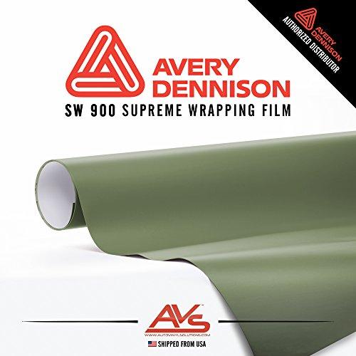 Avery Supreme Wrapping Film Avery Military Green Khaki Matte Vinyl Car Wrap Sheet - 75ft x 5ft (900