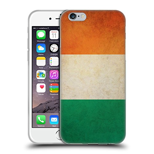 Head Case Designs Ireland Irish Vintage Flags Soft Gel Case for Apple iPhone 6 / 6s