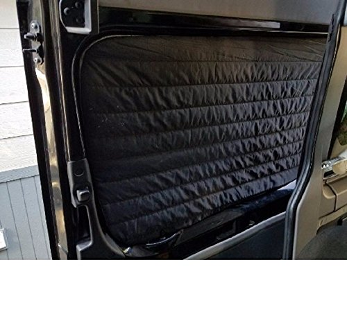 Insulated Slider Door Window Cover w/Thinsulate 4-Season by thisvanlife