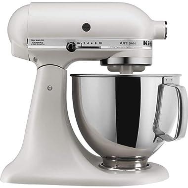 KitchenAid KSM150PSMH Artisan Stand Mixers, 5 quart, Milkshake