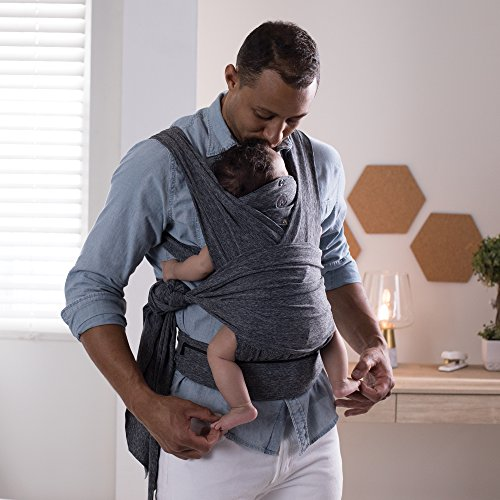 Boppy ComfyFit Baby Carrier, Heathered Gray by Boppy (Image #3)