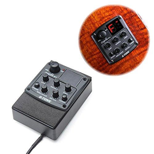 BangBang Cherub G-Tone 3-Band EQ Equalizer Acoustic Guitar Preamp Pickup Tuner