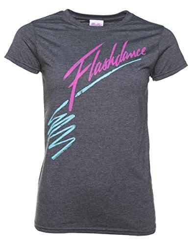 TruffleShuffle Womens Flashdance Logo T Shirt