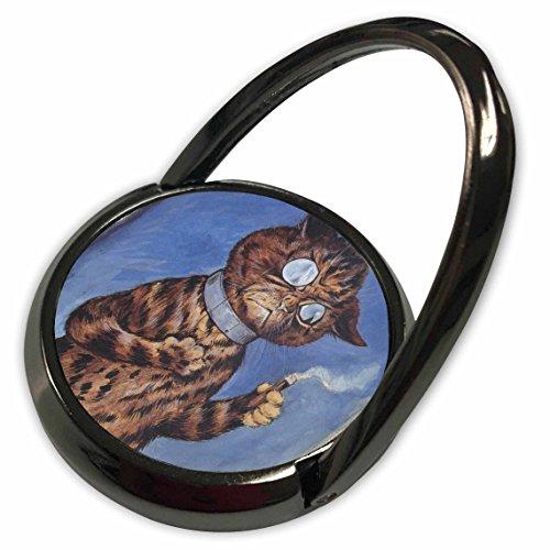 3dRose PS Vintage - Vintage Cat Louis Wain animal art - Phone Ring (phr_110350_1)